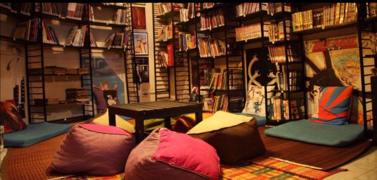 Mumbai's First Comic Book Cafe image