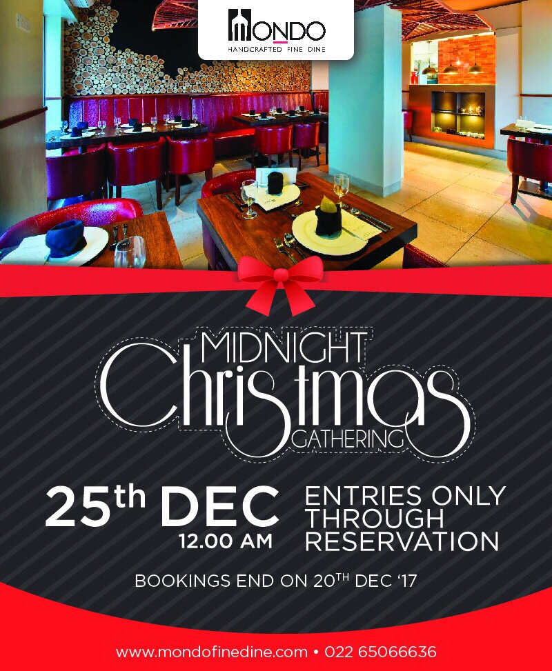 Midnight Christmas Gathering with Unlimited Food and Drinks image
